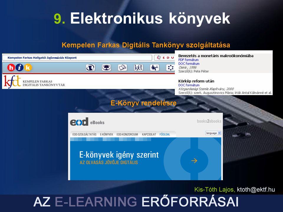 Kempelen Farkas Digitális Tankönyv szolgáltatása