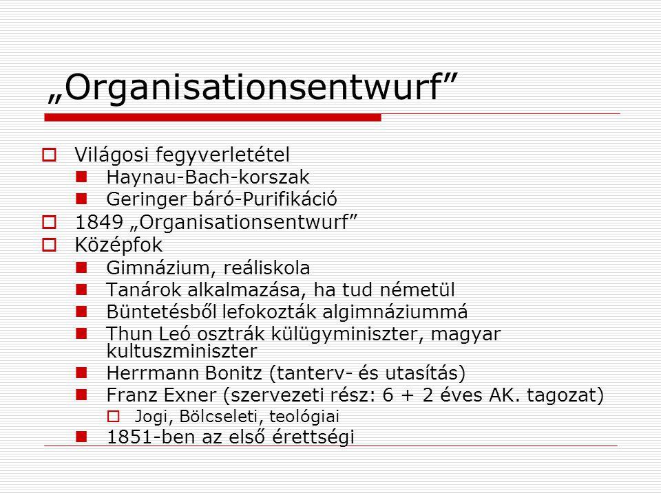 """""""Organisationsentwurf"""