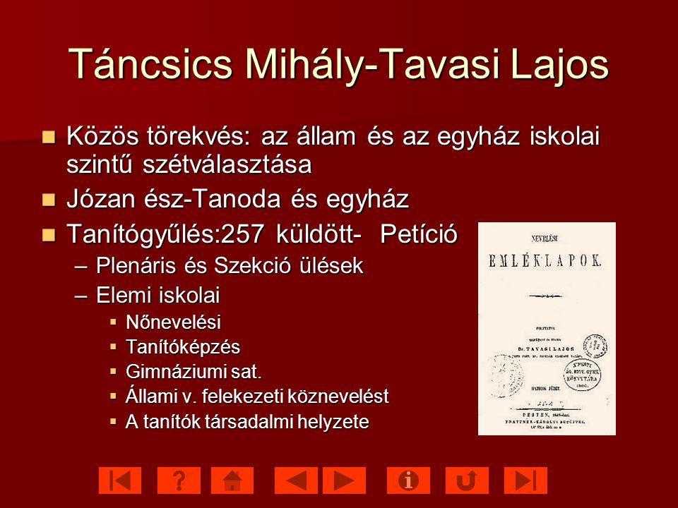 Táncsics Mihály-Tavasi Lajos