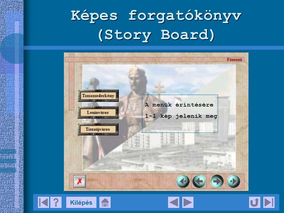 Képes forgatókönyv (Story Board)