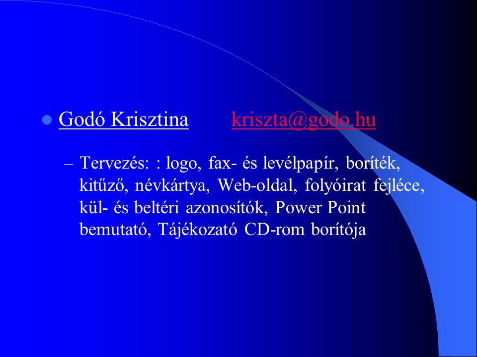 Godó Krisztina kriszta@godo.hu