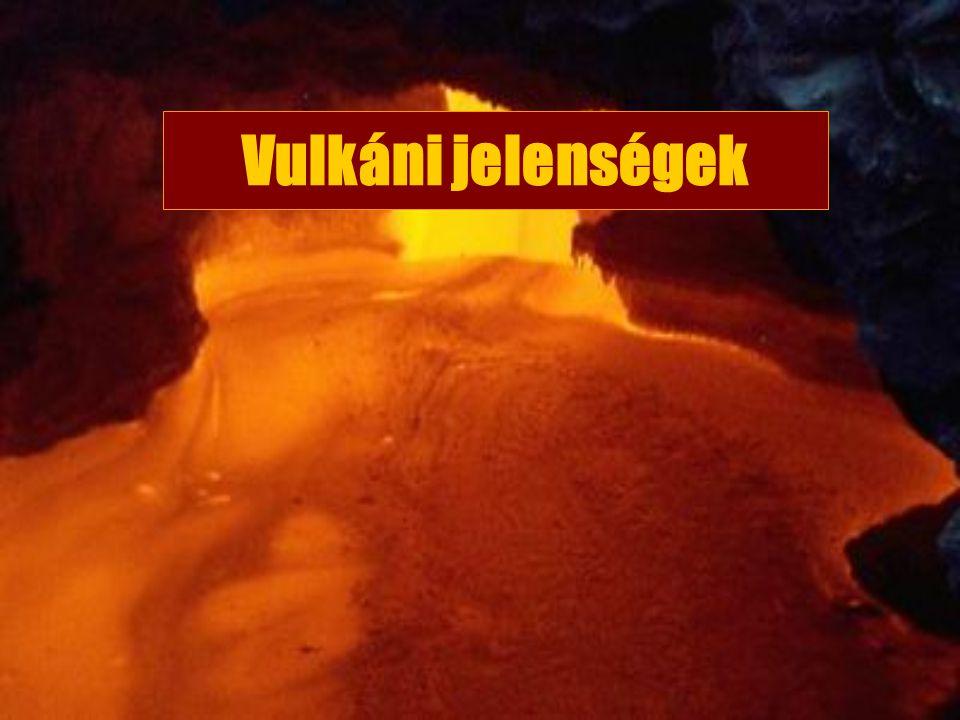Vulkáni jelenségek