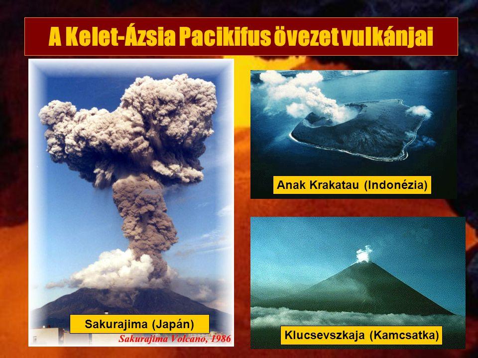 A Kelet-Ázsia Pacikifus övezet vulkánjai