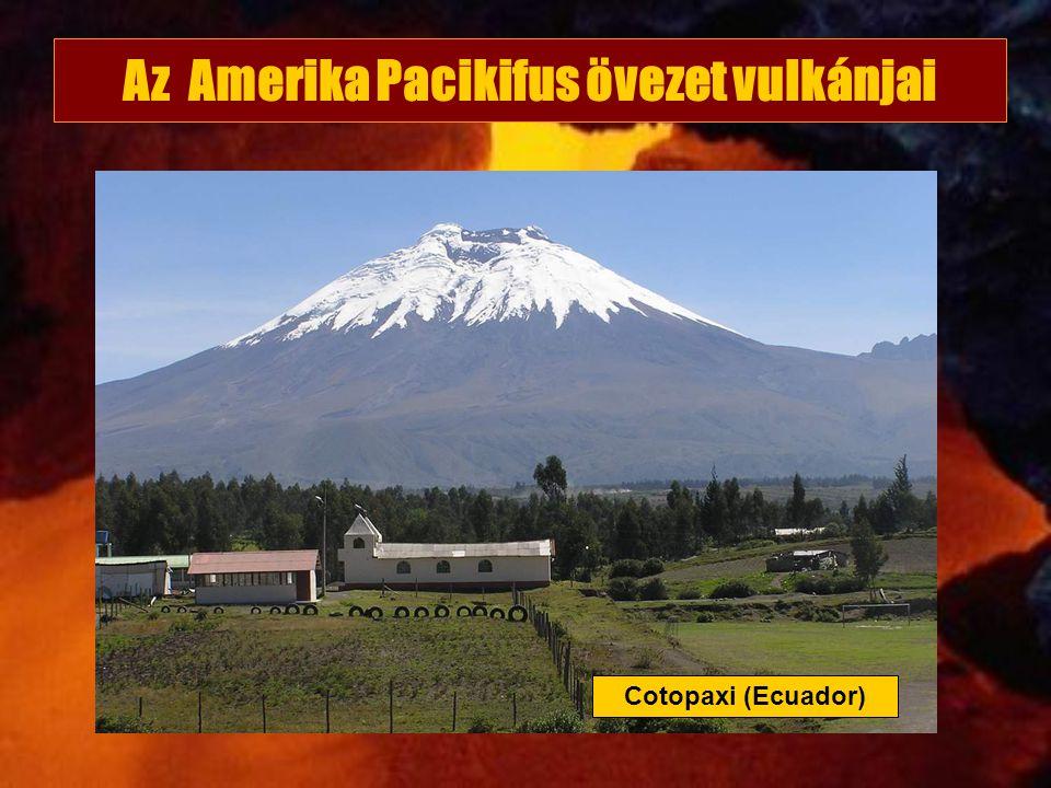 Az Amerika Pacikifus övezet vulkánjai
