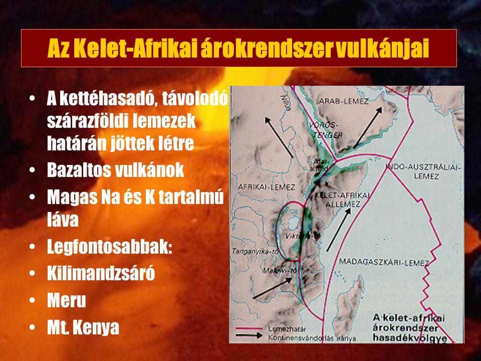 Az Kelet-Afrikai árokrendszer vulkánjai