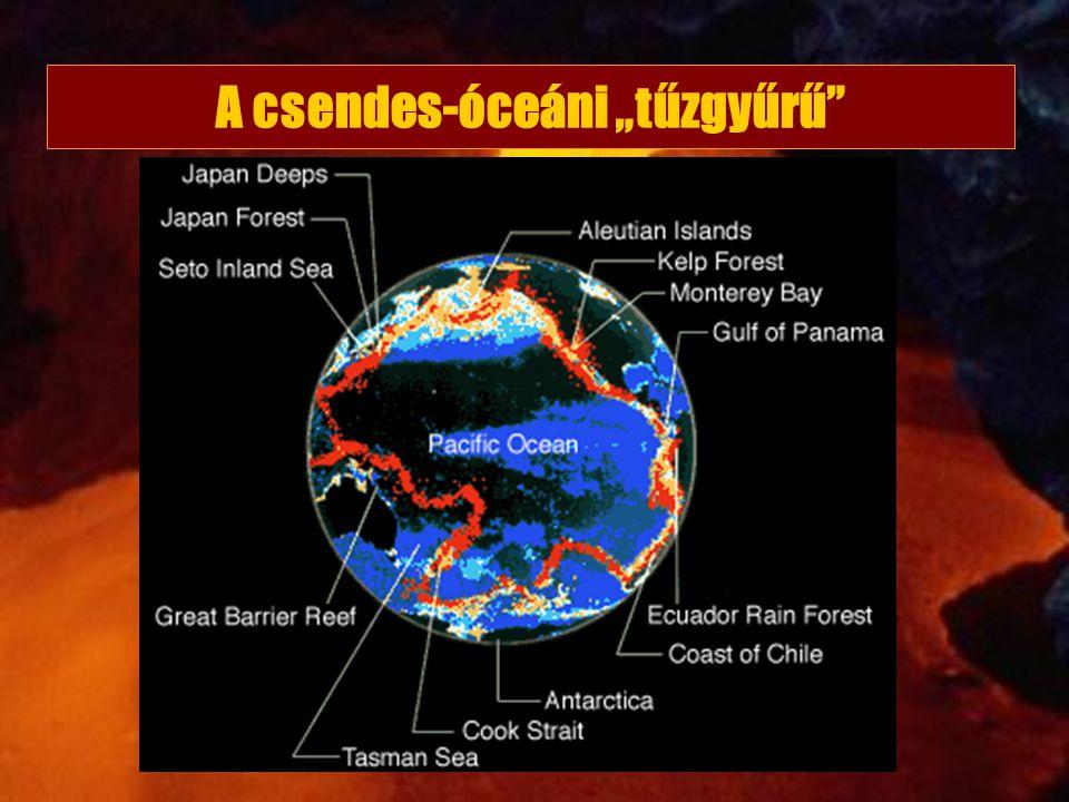 """A csendes-óceáni """"tűzgyűrű"""