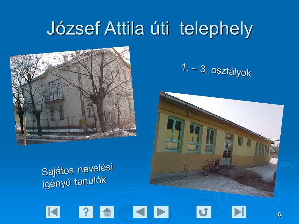 József Attila úti telephely