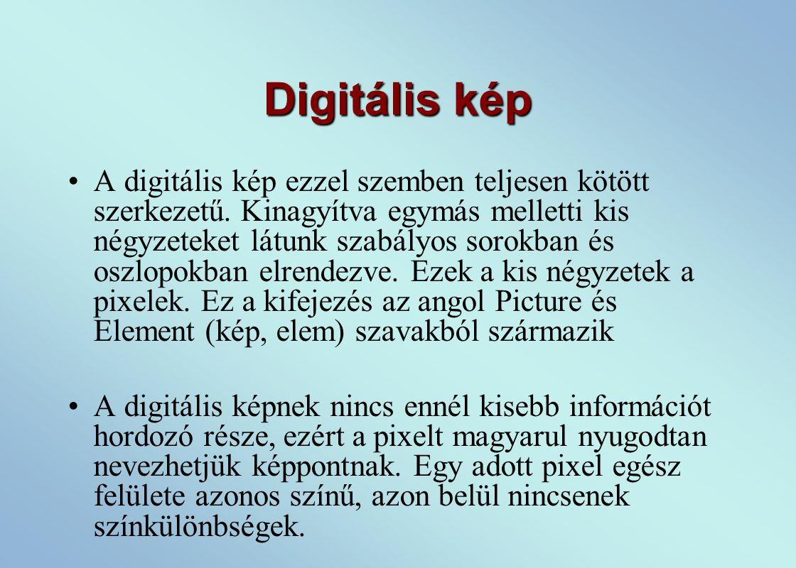 Digitális kép