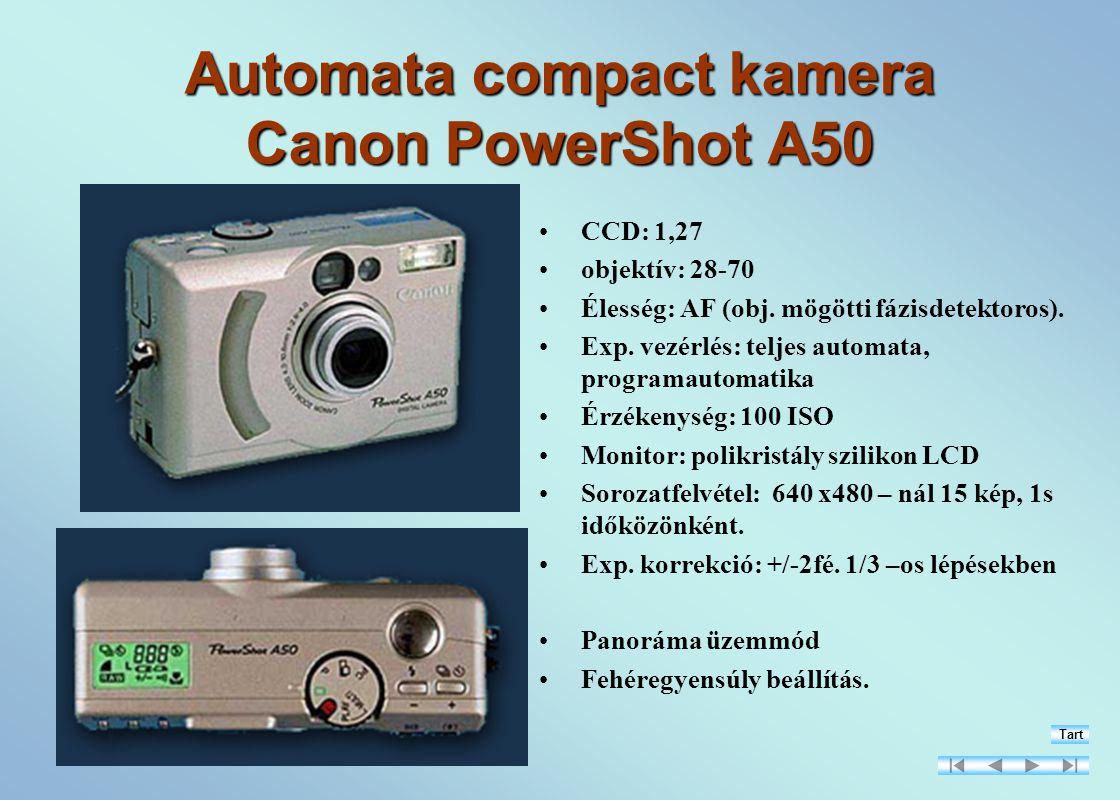Automata compact kamera Canon PowerShot A50