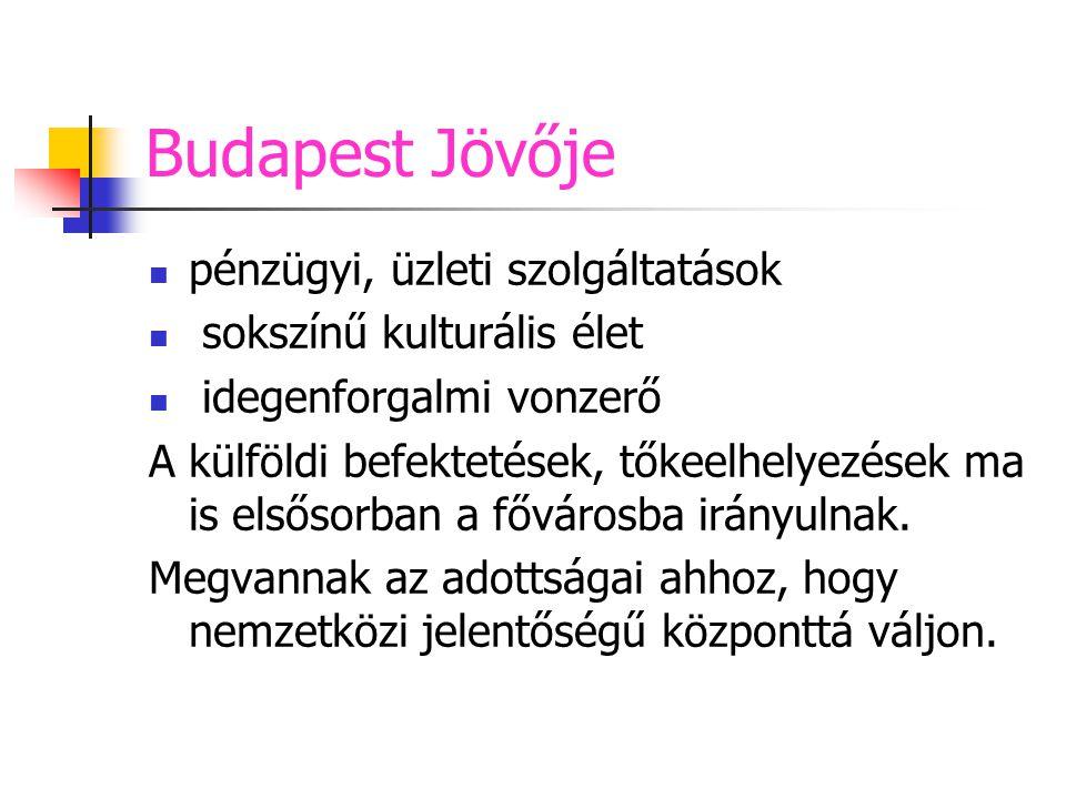 Budapest Jövője pénzügyi, üzleti szolgáltatások