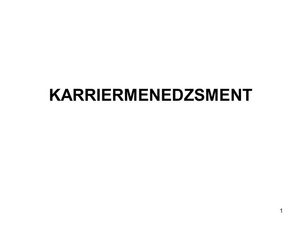KARRIERMENEDZSMENT