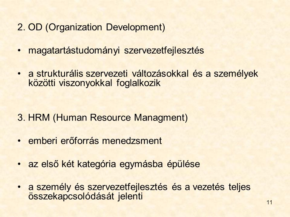 2. OD (Organization Development)