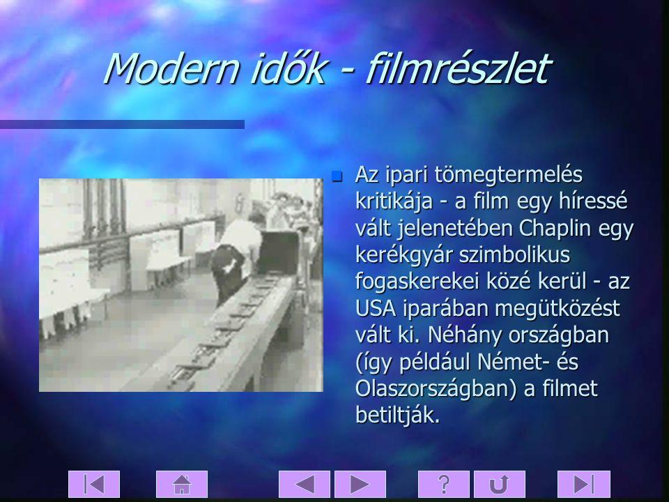 Modern idők - filmrészlet