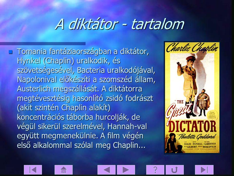 A diktátor - tartalom