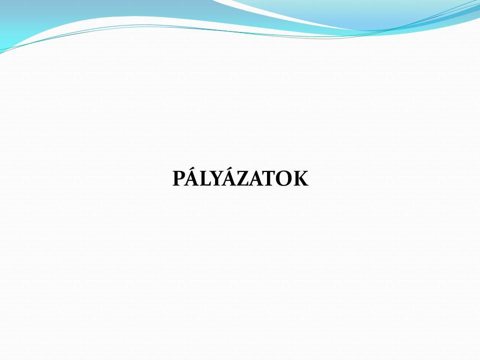 PÁLYÁZATOK