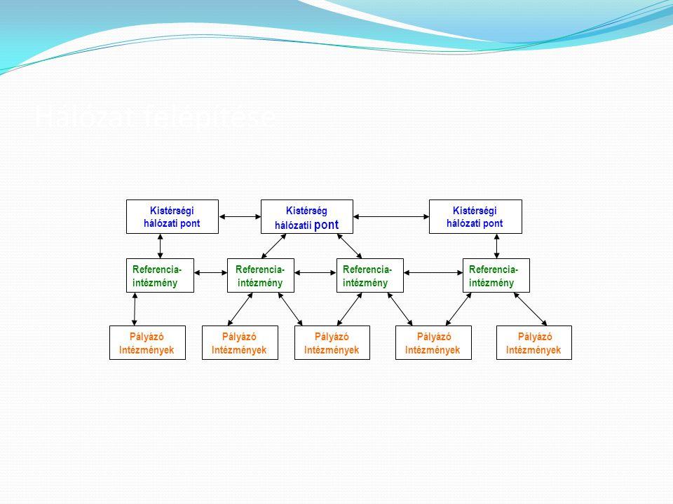 Kistérségi hálózati pont Kistérség hálózatii pont