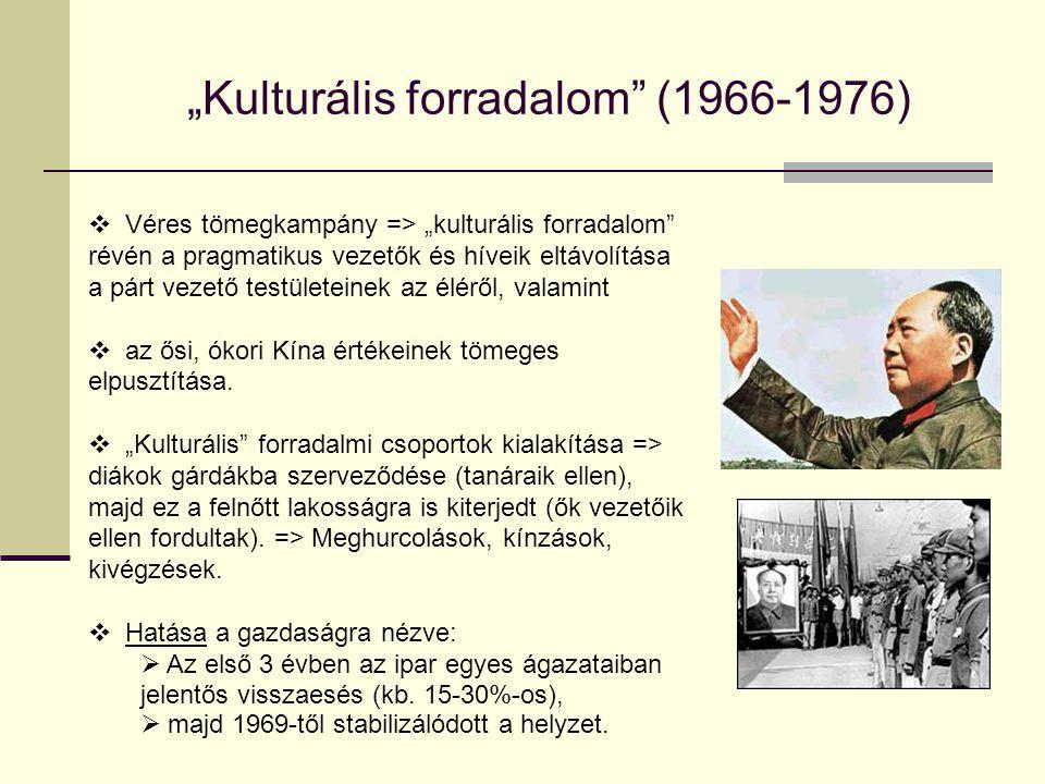 """""""Kulturális forradalom (1966-1976)"""