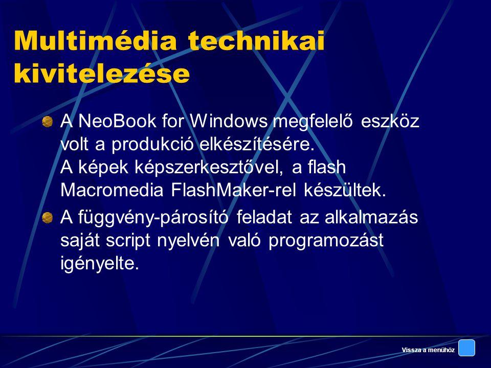 Multimédia technikai kivitelezése