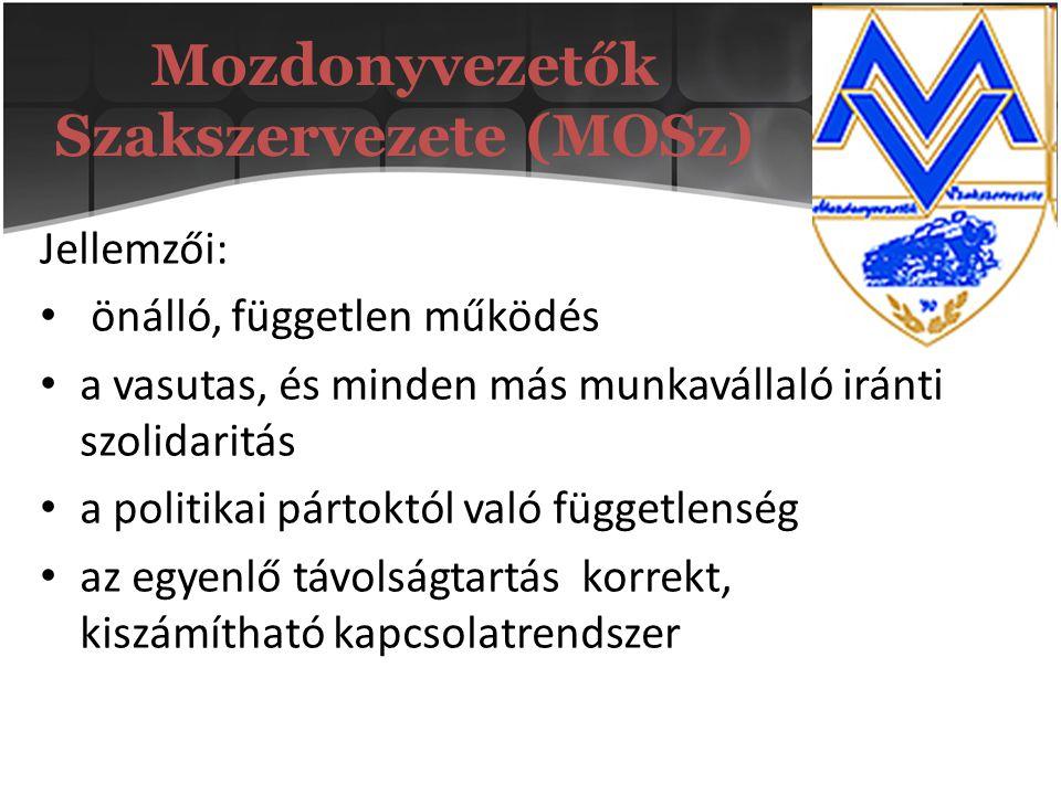 Mozdonyvezetők Szakszervezete (MOSz)