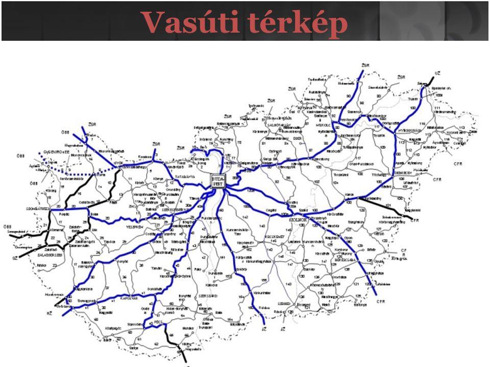 Vasúti térkép