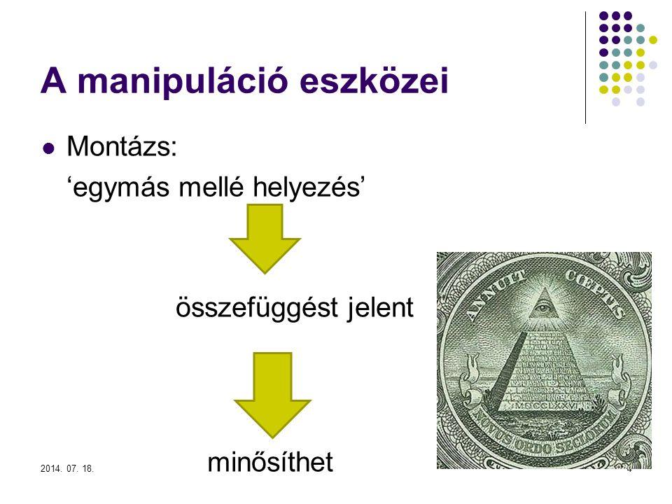 A manipuláció eszközei