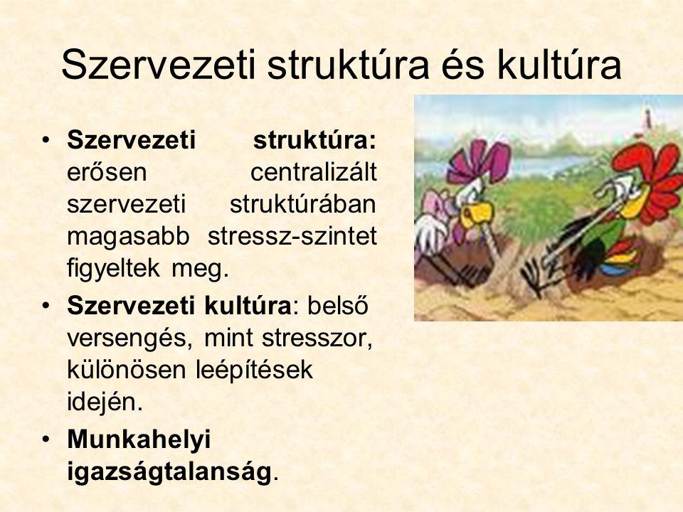 Szervezeti struktúra és kultúra