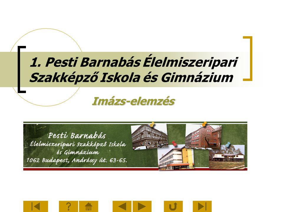 1. Pesti Barnabás Élelmiszeripari Szakképző Iskola és Gimnázium