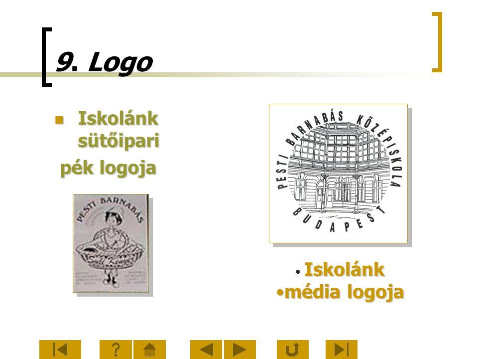 9. Logo Iskolánk sütőipari pék logoja Iskolánk média logoja