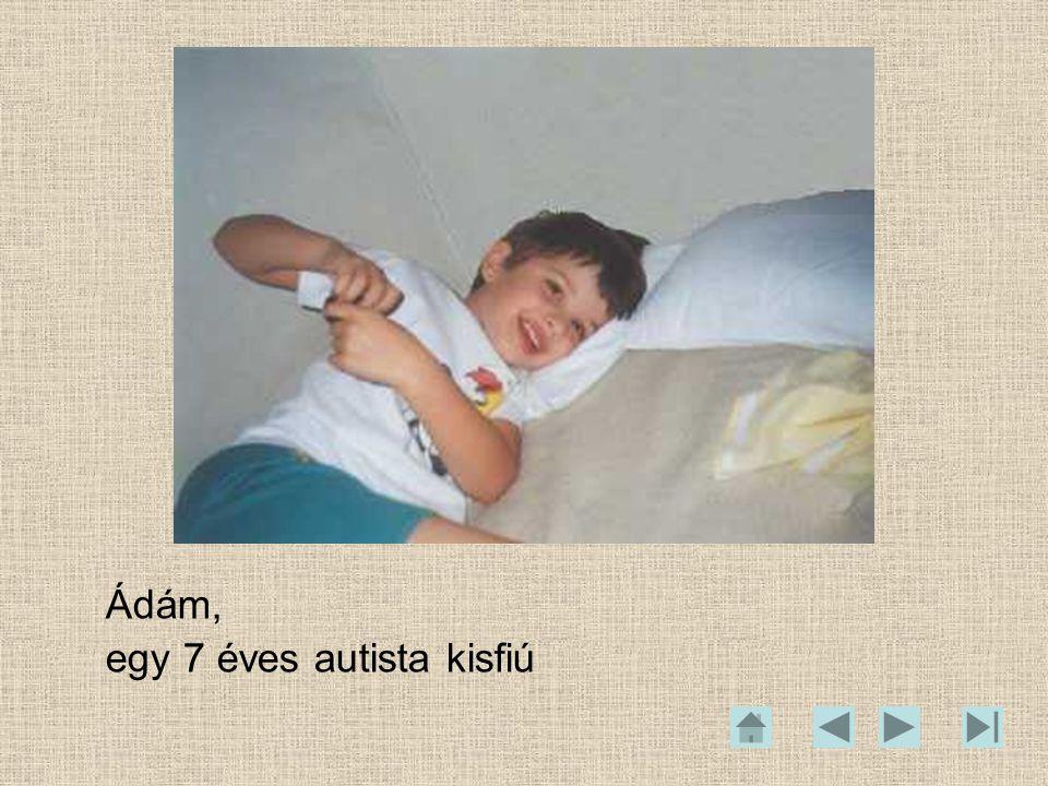 Ádám, egy 7 éves autista kisfiú