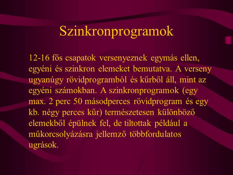 Szinkronprogramok