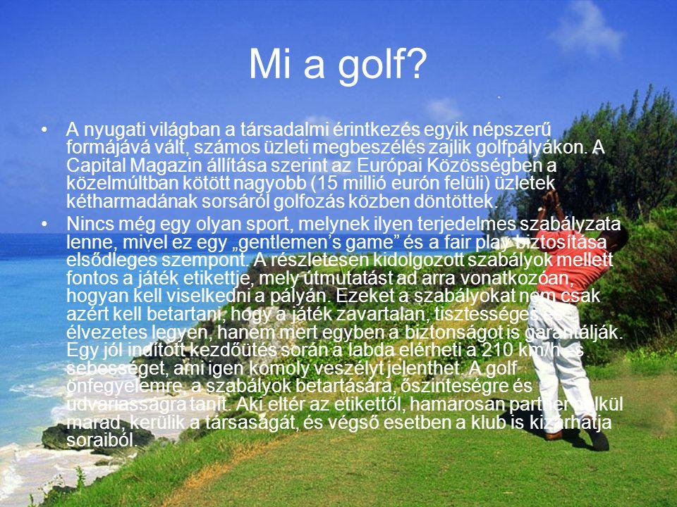 Mi a golf