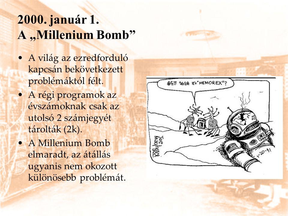 """2000. január 1. A """"Millenium Bomb"""