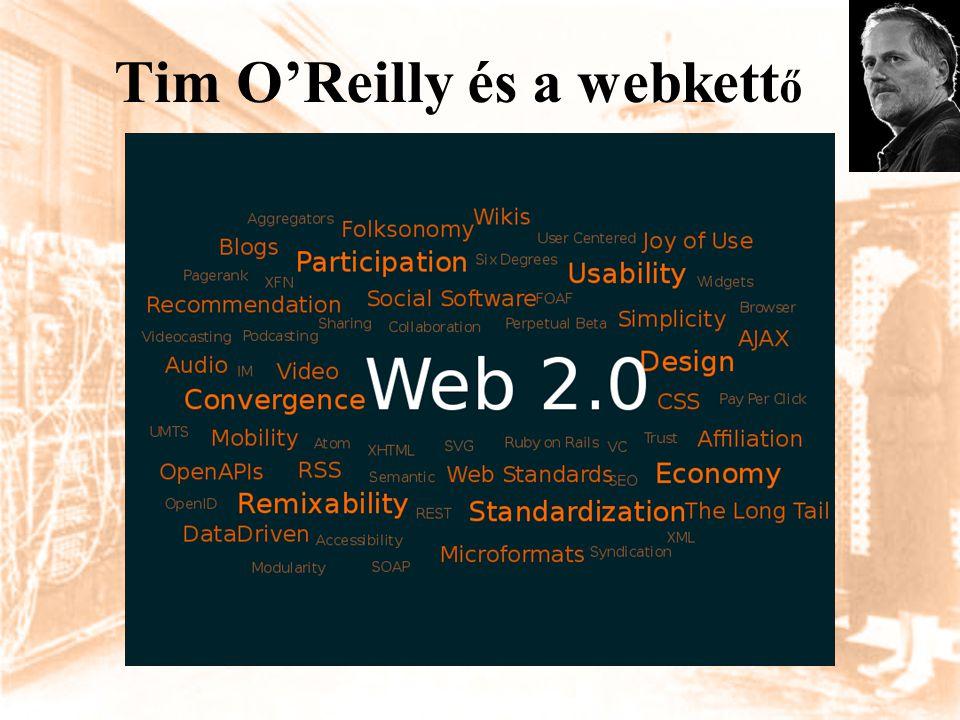 Tim O'Reilly és a webkettő