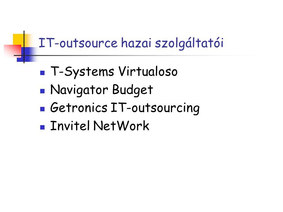 IT-outsource hazai szolgáltatói