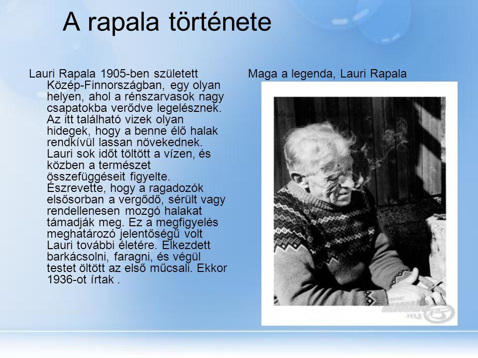 Maga a legenda, Lauri Rapala