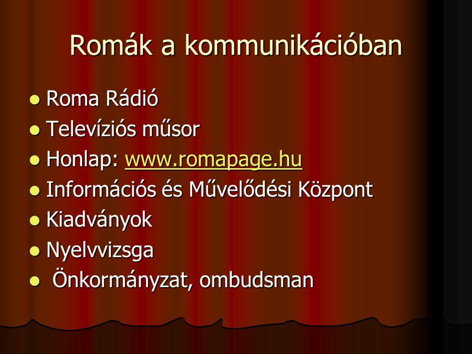 Romák a kommunikációban