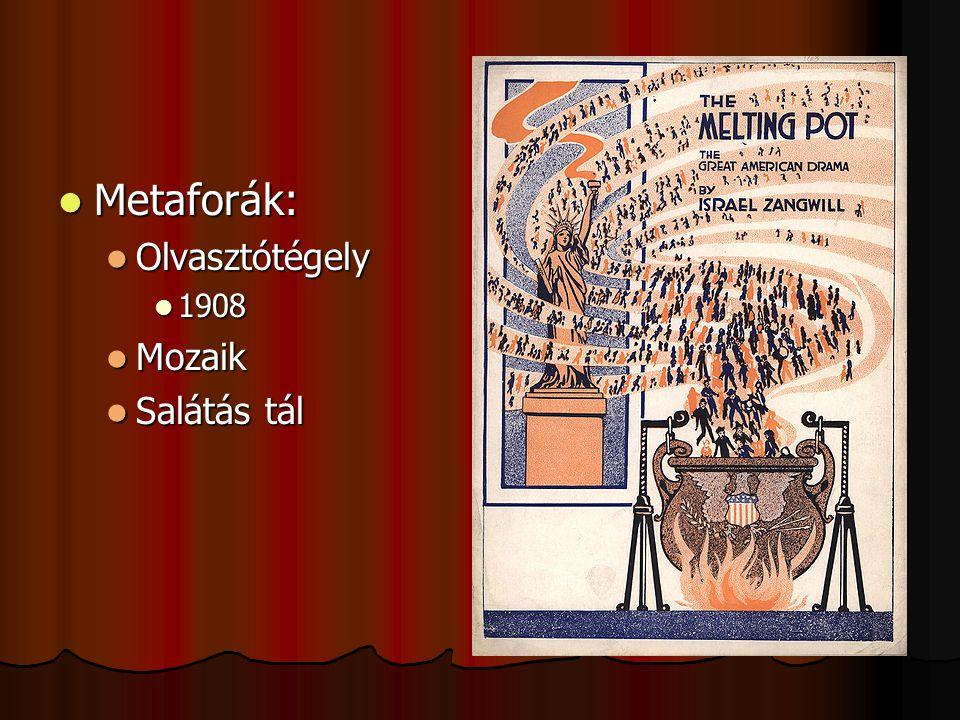 Metaforák: Olvasztótégely 1908 Mozaik Salátás tál