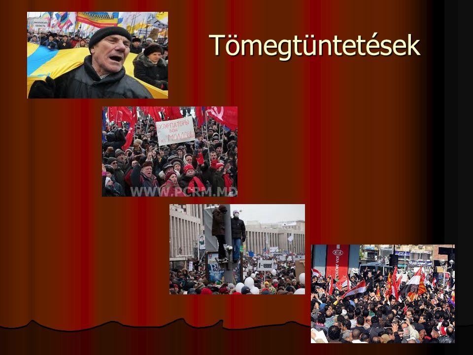 Tömegtüntetések