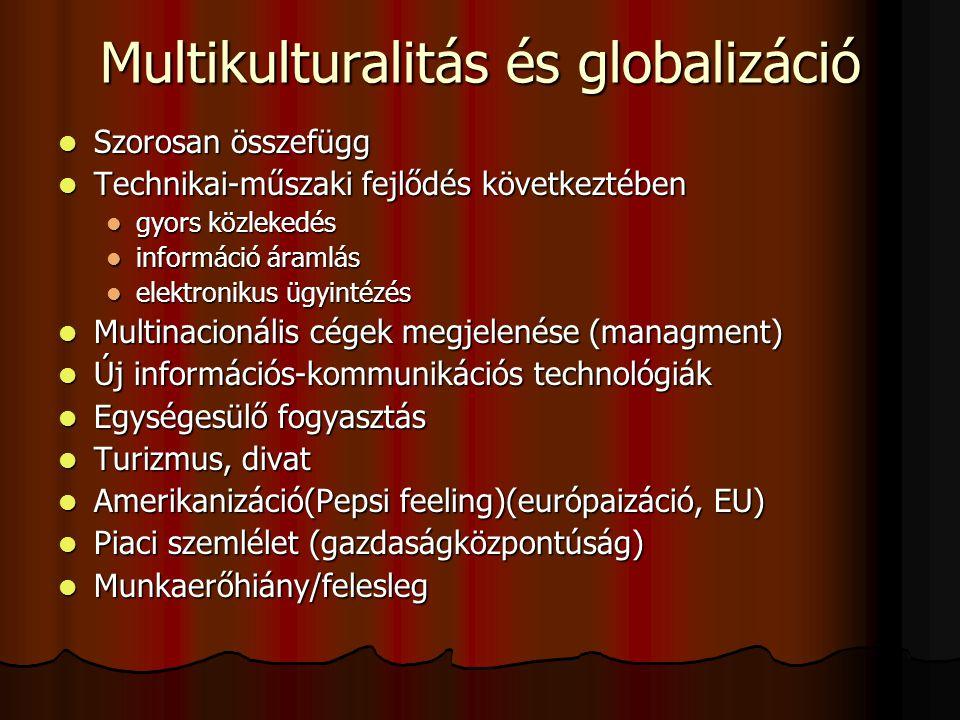 Multikulturalitás és globalizáció