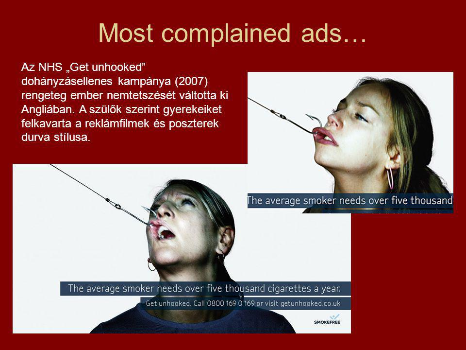 Most complained ads…