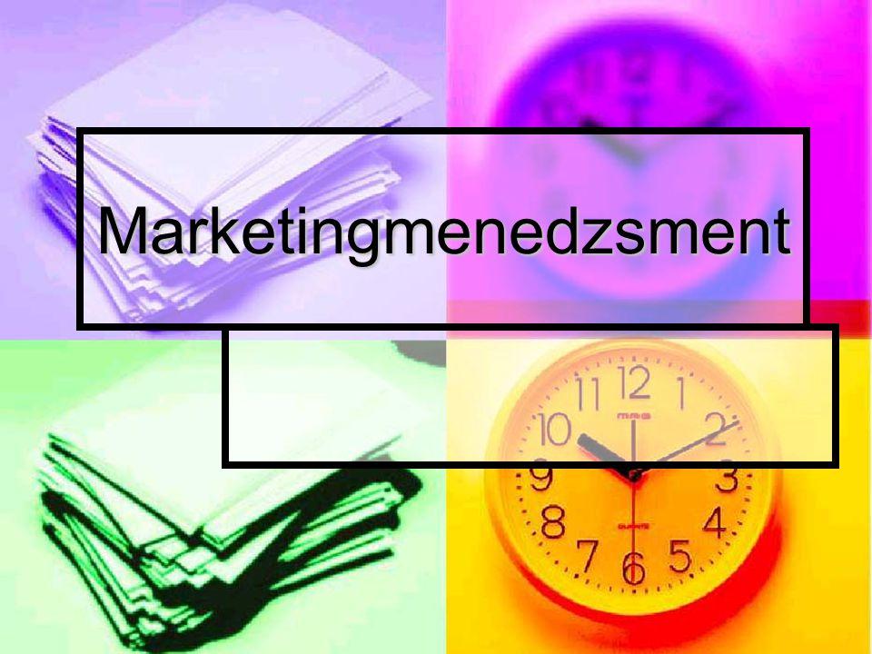 Marketingmenedzsment