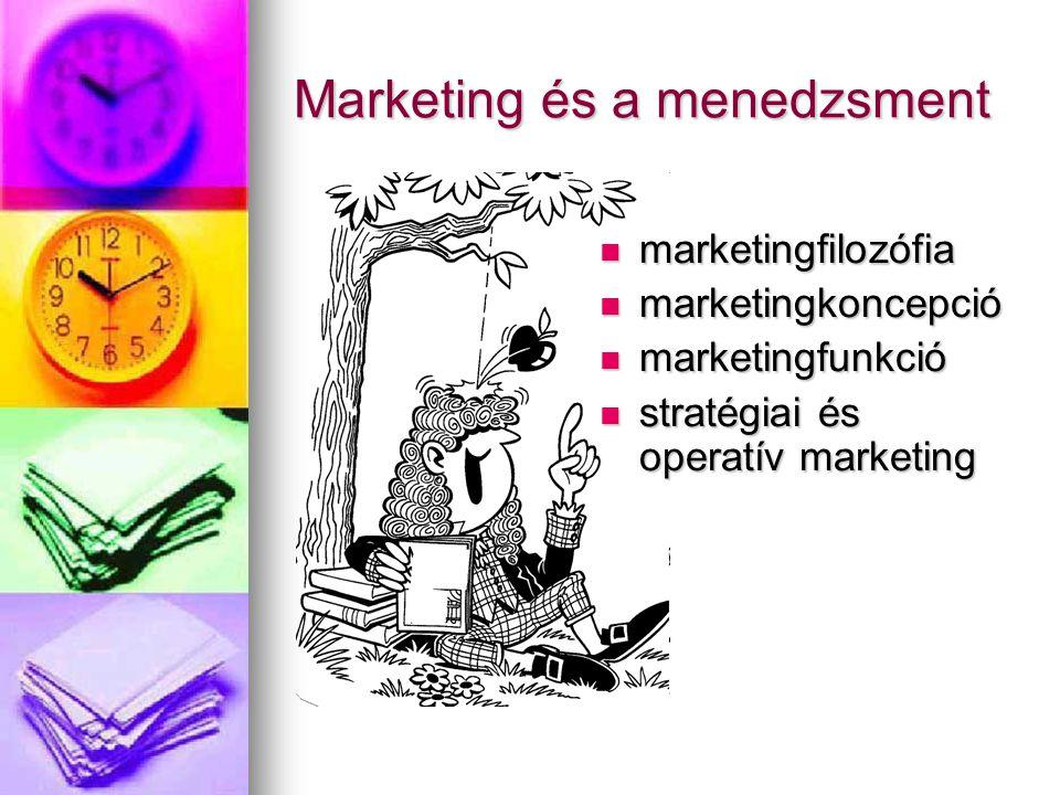 Marketing és a menedzsment