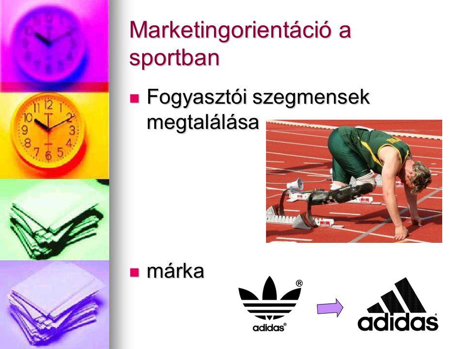 Marketingorientáció a sportban