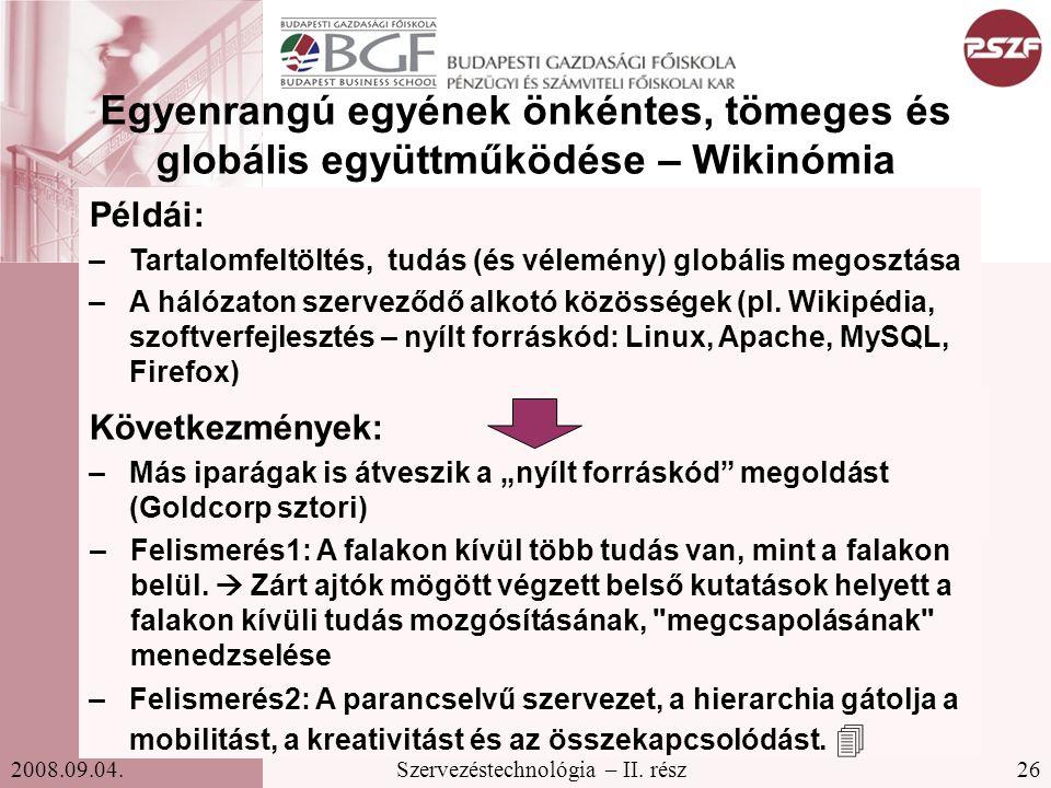 Egyenrangú egyének önkéntes, tömeges és globális együttműködése – Wikinómia