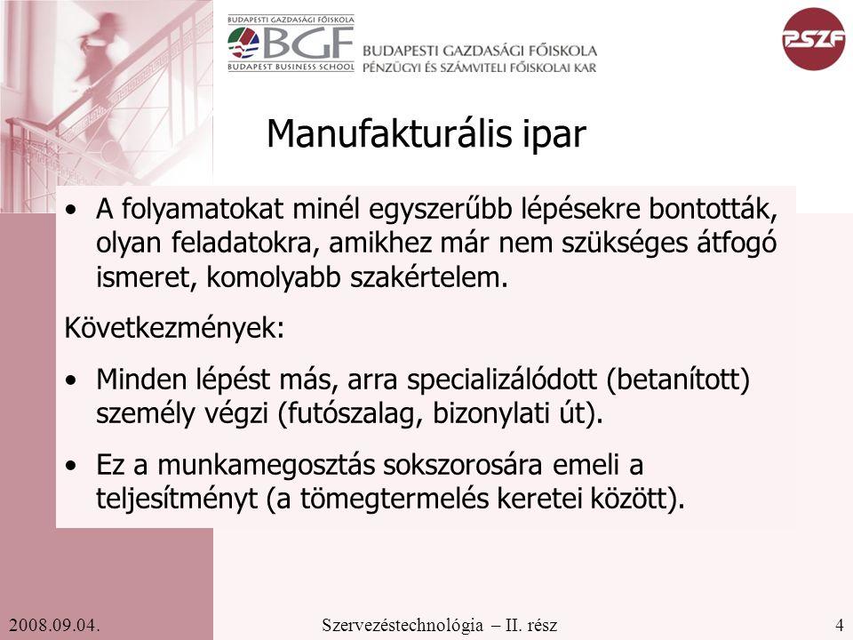 Manufakturális ipar