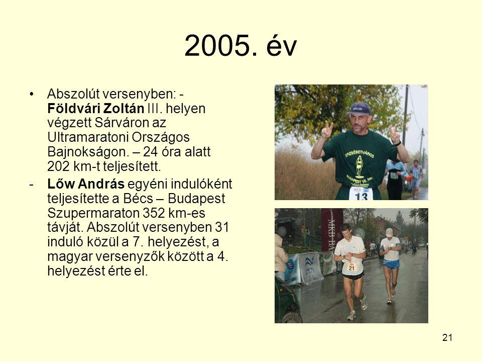 2005. év