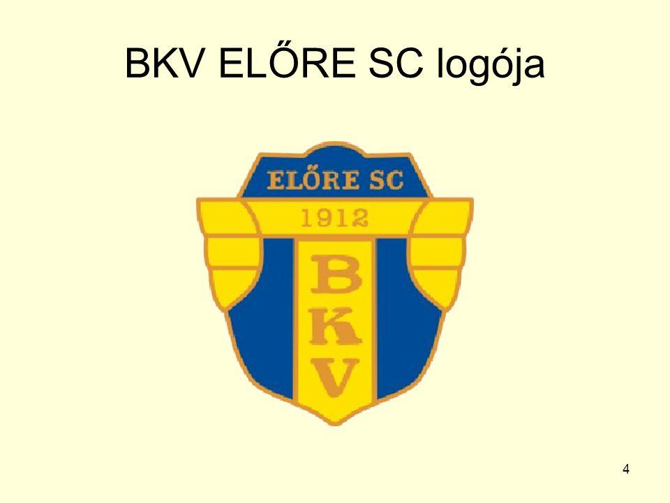 BKV ELŐRE SC logója