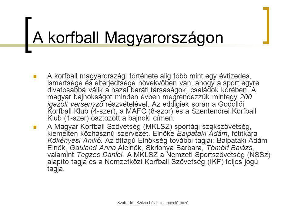 A korfball Magyarországon