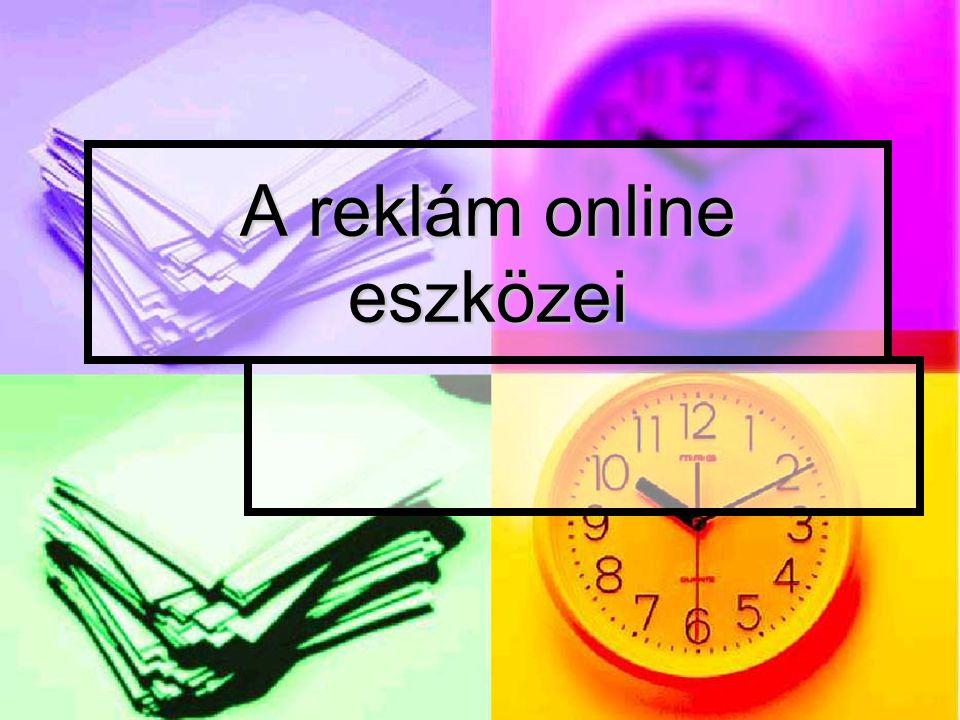 A reklám online eszközei