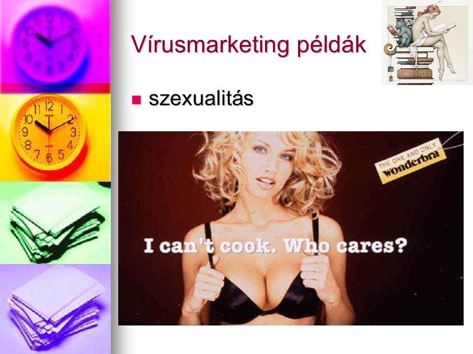 Vírusmarketing példák
